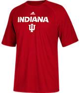 Men's adidas Indiana Hoosiers College 2017 Sideline T-Shirt