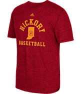 Men's adidas Indiana Pacers NBA Hardwood Classics Hickory T-Shirt