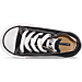 Top view of Kids' Toddler Converse Chuck Taylor Ox Casual Shoes in Black