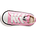 Top view of Girls' Toddler Converse Chuck Taylor Ox Casual Shoes in Pink
