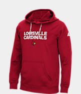 Men's adidas Louisville Cardinals College Sideline Hustle Hoodie