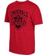 Men's adidas Louisville Cardinals College Traditional Tri-Blend T-Shirt