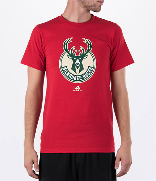 Men's adidas Milwaukee Bucks NBA Primary T-Shirt