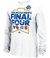 Men's adidas College Final Four 2016 Banner 4 Long-Sleeve T-Shirt