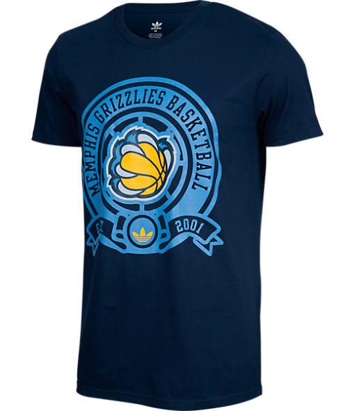 Men's adidas Memphis Grizzlies NBA Retro Wrap T-Shirt
