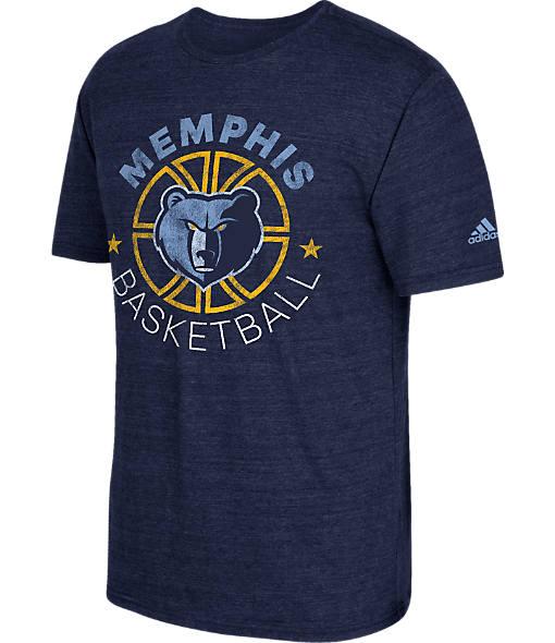 Men's adidas Memphis Grizzlies NBA Double Dribble Short-Sleeve T-Shirt