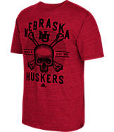 Men's adidas Nebraska Cornhuskers College Traditional Tri-Blend T-Shirt