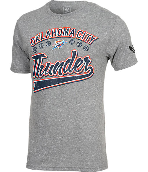 Men's adidas Oklahoma City Thunder NBA Great Logos T-Shirt