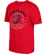 Men's adidas Portland Trail Blazers NBA Double Dribble Short-Sleeve T-Shirt