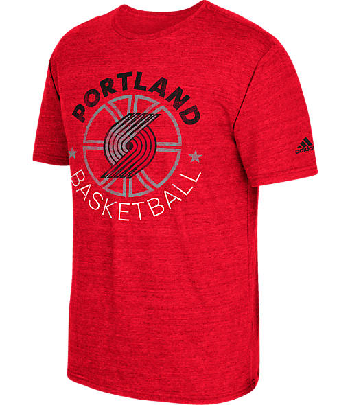 Men's adidas Portland Trail Blazers NBA Double Dribble Short-Sleeve T-Shirt