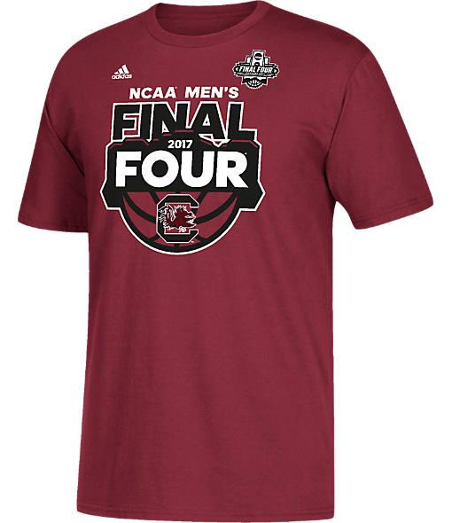 Men's adidas South Carolina Gamecocks College Final Four 2017 Desert Four T-Shirt