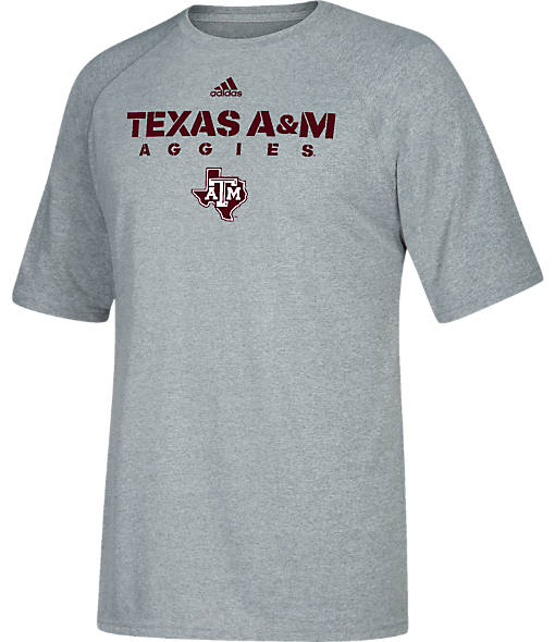 Men's adidas Texas A&M Aggies College 2017 Sideline T-Shirt