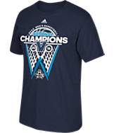 Men's adidas Villanova Wildcats College 2016 National Champions Scissor Net T-Shirt