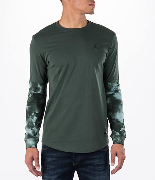 Men's Air Jordan Clouded Nightmare Long-Sleeve T-Shirt