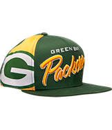 New Era Green Bay Packers NFL Side Smack Snapback Hat