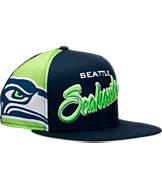 New Era Seattle Seahawks NFL Side Smack Snapback Hat