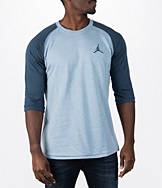Men's Air Jordan 23 True 3/4 Sleeve Raglan T-Shirt