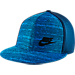 Front view of Nike Tech Pack True Hat in 423