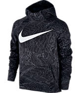 Boys' Nike Therma Allover Print Pullover Hoodie