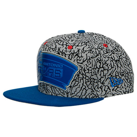 New Era San Antonio Spurs NBA Kick Hooks Snapback Hat