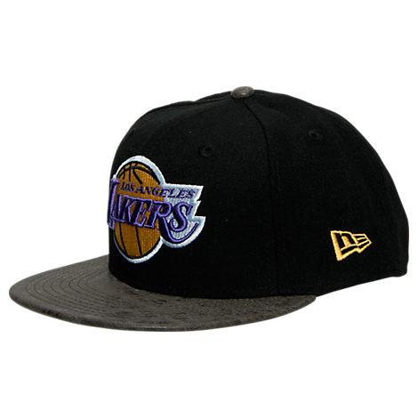 New Era Los Angeles Lakers NBA Rustic Vize Snapback Hat