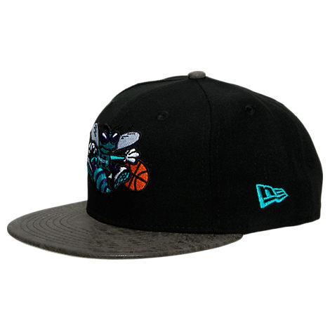 New Era Charlotte Hornets NBA Rustic Vize Snapback Hat