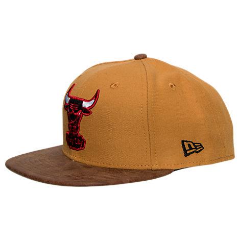 New Era Chicago Bulls NBA Rustic Vize Timberland Snapback Hat