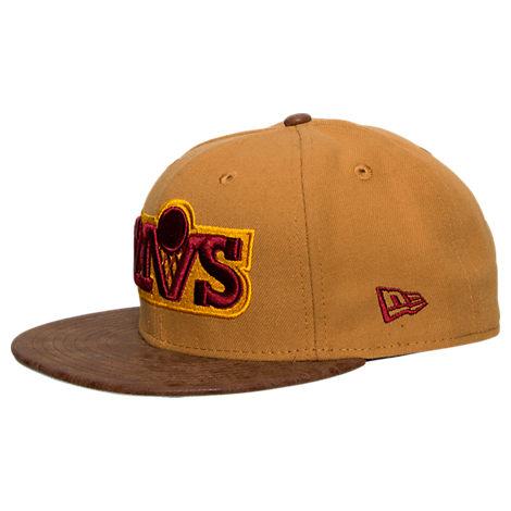 New Era Cleveland Cavaliers NBA Rustic Vize Timberland Snapback Hat