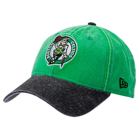 New Era Boston Celtics NBA Rugged Canvas Adjustable Hat