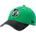 Front view of New Era Boston Celtics NBA Rugged Canvas Adjustable Hat in Team Colors