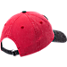 Back view of New Era Chicago Bulls NBA Rugged Canvas Adjustable Hat in Team Colors