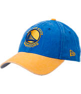 New Era Golden State Warriors NBA Rugged Canvas Adjustable Hat