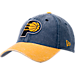 Front view of New Era Indiana Pacers NBA Rugged Canvas Adjustable Hat in Team Colors