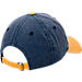 Back view of New Era Indiana Pacers NBA Rugged Canvas Adjustable Hat in Team Colors