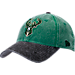 Front view of New Era Milwaukee Bucks NBA Rugged Canvas Adjustable Hat in Team Colors