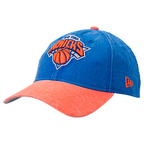New Era New York Knicks NBA Rugged Canvas Adjustable Hat