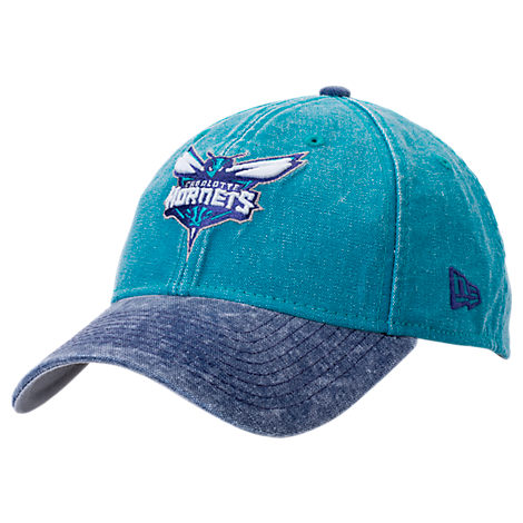 New Era Charlotte Hornets NBA Rugged Canvas Adjustable Hat