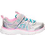 Girls' Toddler Skechers Ecstatix Wunderspark Athletic Shoes