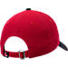 Back view of New Era Boston Red Sox MLB Classic 2 Tone Adjustable Hat in Team Colors
