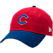 Front view of New Era Chicago Cubs MLB Classic 2 Tone Adjustable Hat in Team Colors