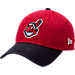 Front view of New Era Cleveland Indians MLB Classic 2 Tone Adjustable Hat in Team Colors