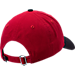 Back view of New Era Cleveland Indians MLB Classic 2 Tone Adjustable Hat in Team Colors