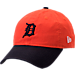Front view of New Era Detroit Tigers MLB Classic 2 Tone Adjustable Hat in Team Colors
