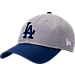 Front view of New Era Los Angeles Dodgers MLB Classic 2 Tone Adjustable Hat in Team Colors