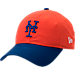 Front view of New Era New York Mets MLB Classic 2 Tone Adjustable Hat in Team Colors