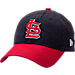 Front view of New Era St. Louis Cardinals MLB Classic 2 Tone Adjustable Hat in Team Colors