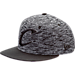 Front view of New Era Cleveland Cavaliers NBA Terry Fresh Snapback Hat in Black