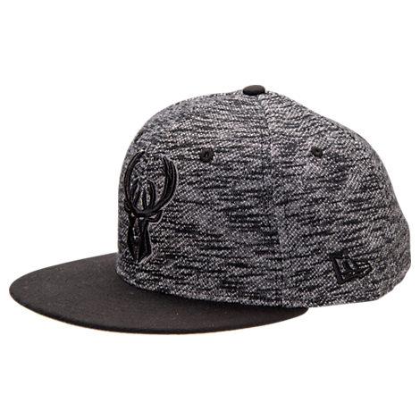 New Era Milwaukee Bucks NBA Terry Fresh Snapback Hat