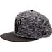 Front view of New Era Milwaukee Bucks NBA Terry Fresh Snapback Hat in Black