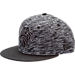 Front view of New Era New York Knicks NBA Terry Fresh Snapback Hat in Black